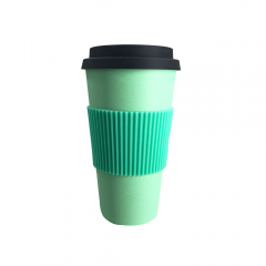 large capacity bamboo fibre coffee mugs