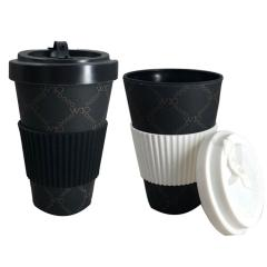 black bamboo fibre coffee mugs